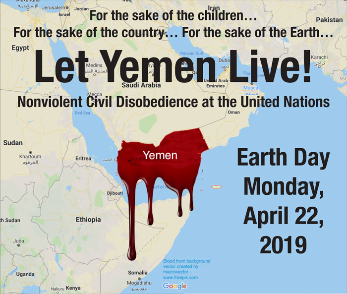 Let Yemen Live! Nonviolent Civil Disobedience at the United Nations